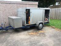 Box Trailer Aluminium with Sliding Doors
