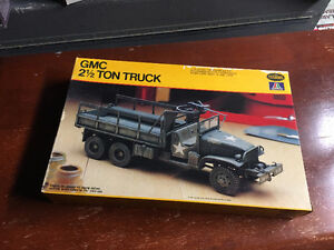 1:35 Scale Model WWII 2 Ton Truck