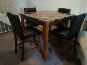 5 piece dining table for sale