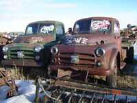 1951 Fargo 3 ton truck chassis