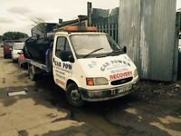 Ford transit recovery spares or repair