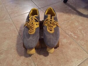 Old School Rollerskates Men's 10
