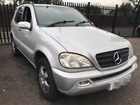 Mercedes ML270 diesel auto swap/sell