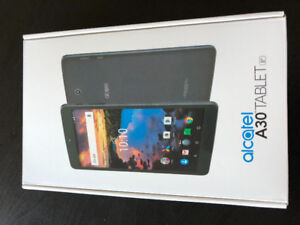 Brand New - Unopened Alcatel A30 Andriod Tablet