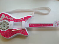 Barbie Electric Toy Guitar