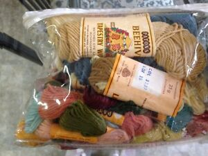 Selection of Tapestry, Needlepoint Yarn  $5.00  lot