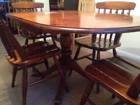 Dining table wood -reduced price
