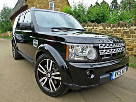 2013 LAND ROVER DISCOVERY 4 3.0 SDV6 225 BHP HSE LUX LUXUARY AUTO. FULLY LOADED