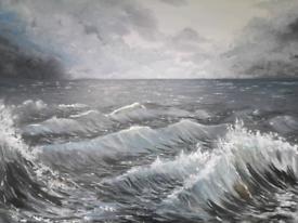 Original Artwork - Storm sea