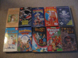 10 Children's Movies on Vhs tape for $5