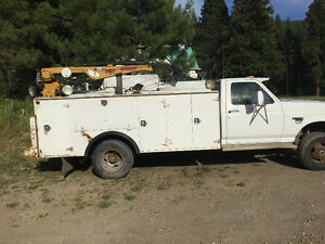 1995 Ford F-350 Service truck