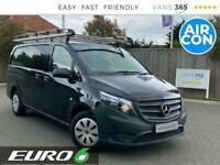2018 Mercedes-Benz Vito 111 1.6 Cdi 114bhp LWB L2 EURO 6 Panel Van Diesel Manual