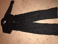 Men coveralls black medium new with tags