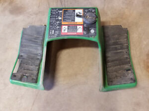 John Deere 425, 445 or 455 body metal foot rest. In good shape.