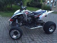 Yamaha yfz 450 road legal quad not raptor
