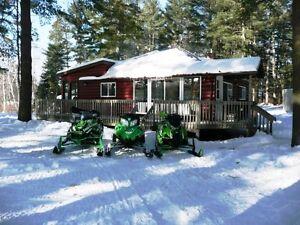 Cottage Rental - ATV/Snowmobile Adventure - Madawaska Valley London Ontario image 4
