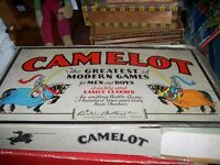 Very Old Board Game  Camelot
