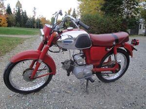 Moto antique Yamaha Yc2