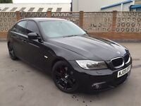 2009 BMW 320d M SPORT SALOON MANUAL DIESEL # NEW BRAKES ALL ROUND & FULL SERVICE # HPI CLEAR