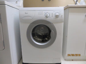 """Whirlpool""apartment size frontload washer Sarnia Sarnia Area image 2"