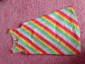 Rainbow dress size 5T