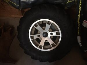 2008 outlander tires and rims
