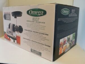 Omega J8007S Heavy Duty Horizontal Slow Juicer Does Wheat Grass