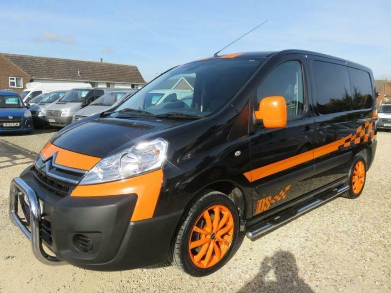 2012 12 CITROEN DISPATCH 2.0 1200 L1H1 HDI BLACK 47331 MILES ONLY DIESEL