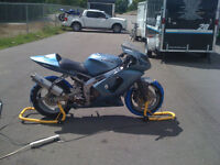 2002 ZX-6 Track Bike and accessories