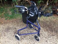 Tri walker disability walker excellent condition