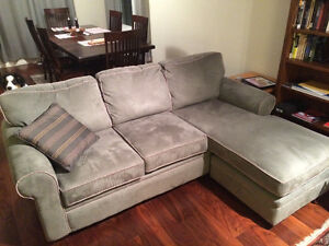 Couch w/ chaise lounge for sale.