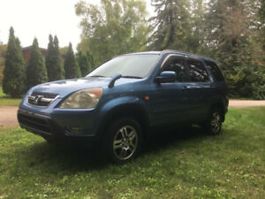 2002 Honda CR-V RIGHT HAND DRIVE - postal delivery 49km