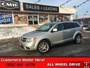 2013 Dodge Journey   R/T V6 AWD HEATED LEATHER SEATS ALPINE!
