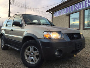 2007 FORD ESCAPE FULLY LOADED...4X4 ...VERY CLEAN Edmonton Edmonton Area image 7