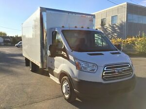 2015 Ford Transit T-350 CUBE 16 PIEDS, fourgon