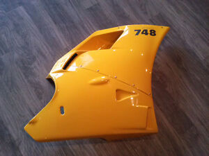 Ducati 748 OEM Original Right Side Upper & Lower  Fairing Panel