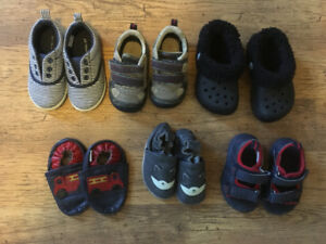 Summer Shoe Lot (size 5/6 or 12-18 months)