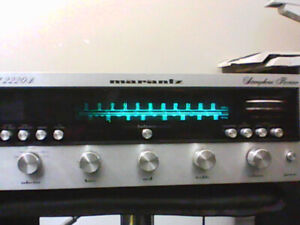 Marantz 2220B Receiver,, 5010B Stereo cassette Deck