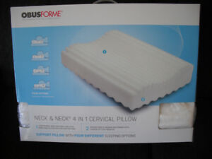 OBUSFORME  NECK & NECK 4 IN 1 CERVICAL PILLOW
