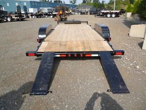 3.5 Ton Deluxe Car Hauler by Miska Trailers
