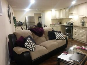 2 bedroom Central Whitby  legal basement apartment for rent Mar2