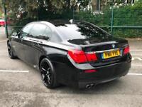 2011 Sapphire Black BMW 730 3.0TD auto Ld M Sport - P/X SWAP - FINANCE -