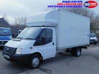 FORD TRANSIT 2.2TDCi 125PS EU5 RWD 350EF LUTON & TAIL LIFT FINANCE ARRANGED