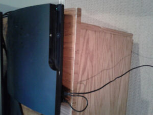 PlayStation 3 with TV and games