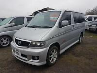 MAZDA BONGO CAMPERVAN WITH SIDE CONVERSION + ROCK AND ROLL BED