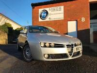Alfa Romeo 159 1.9JTDM 16v Lusso FULL LEATHER -- LONG MOT