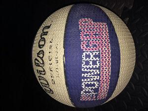 Basketball and skipping rope