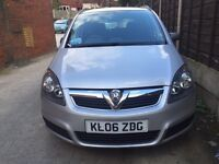 Vauxhall Zafira 1.6 i 16v Club 5dr Quick sale! Very cheap!