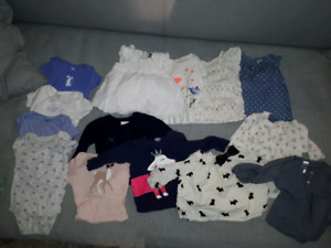 6 months baby girl clothing lot