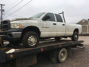Parting out 2004 4x4 2500 long box